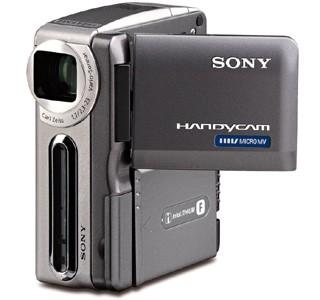 Support für MicroMV-Camcorder von Sony