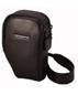 Роскошная натуральная кожа черного цвета Два способа переноса: как сумка...