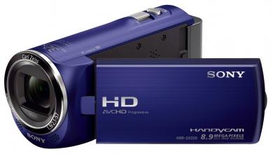 Sony CX220E Camescope Full HD avec mémoire flash HDR-CX220E