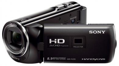 Sony PJ220E Camescope Full HD avec mémoire flash HDR-PJ220E
