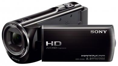 Sony CX280E Camescope Full HD avec mémoire flash HDR-CX280E