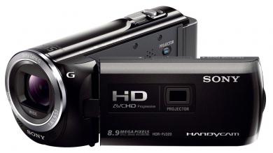 Sony PJ320E Camescope Full HD avec mémoire flash HDR-PJ320E