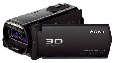 Sony TD30VE Camescope à mémoire flash Double Full HD 3D HDR-TD30VE