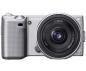 Sony NEX-3 + объектив 16mm + 18-55mm Kit Silver (Официальная гарантия)