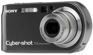 Sony cyber-shot dsc-p200 7. 2mp digital camera black | ebay.