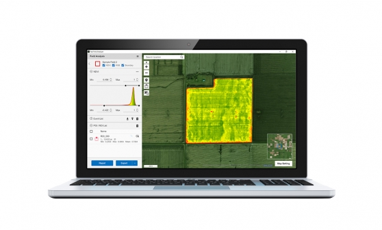 Sony Fast Field Analyzer - Agriculture Software - Sony Pro