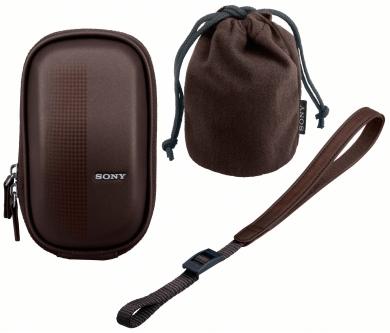 Sony LCM-EMAT Чехол для NEX-3 NEX-5 коричневый.