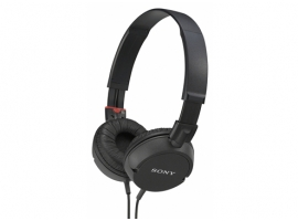 MDR-ZX100/B-Headphones-Sound Monitoring Headphones