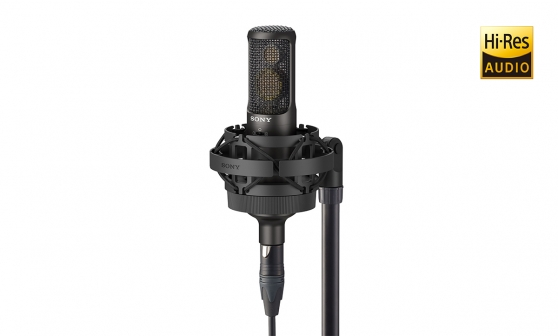 C 100 Two Way Condenser Microphone Sony Pro