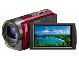 HDR-CX130E/R-Handycam® Camcorder-Flash / Memory Stick