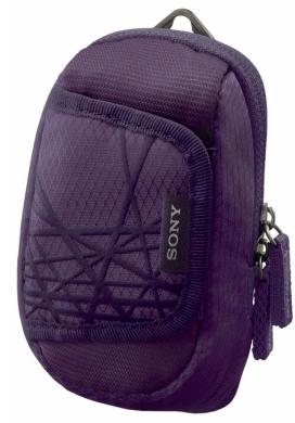 Текстильный чехол Sony LCS-CSX для фотокамер Cyber-Shot.Фиолетовый.
