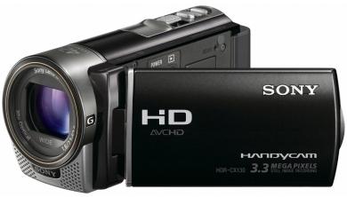 Sony kamerka