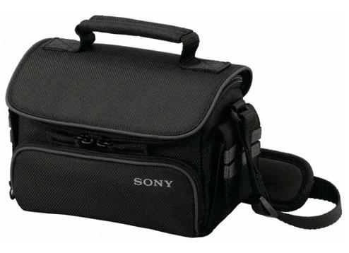Сумка Sony LCS-U10, для цифровой камеры, мягк., черного цвета, для.