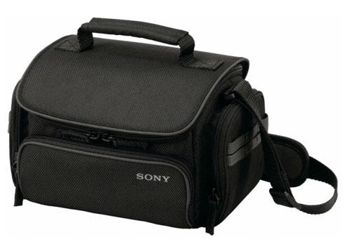 Универсальная средняя текстильная сумка Sony LCS-U20B для видеокамер...