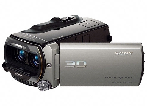 HDR-TD10E-Handycam® Video Camera-Flash / Memory Stick