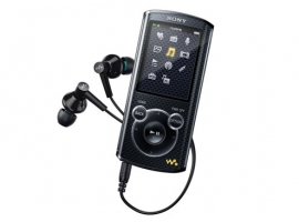 NWZ-E465/B-Walkman® Digital Media Players-E Series