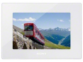 DPF-HD700/W-S-Frame Digital Photo Frame-HD Video Playback
