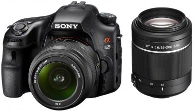 Imagen Cámaras Fotografía DSLR Sony modelo SLT-A65VY