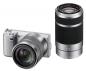 Цифровой фотоаппарат Sony Alpha NEX-C3Y Double Kit Black.