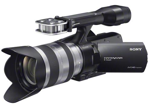 NEX-VG20EH-Handycam® Camcorder-Interchangeable Lens