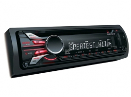 CDX-GT610UG-Xplod™ CD Receivers