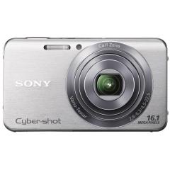 Ricondizionato: 16.1MP Cyber-shot,720p HD, Optical SteadyShot Garanzia standard Sony completa inclusa! ristrutturato, DSCW630S.CEE8.A