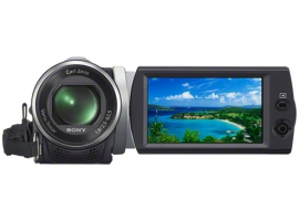 HDR-CX190E-Handycam® Camcorder-Flash / Memory Stick