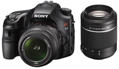 Imagen Cámaras Fotografía DSLR Sony modelo SLT-A57Y