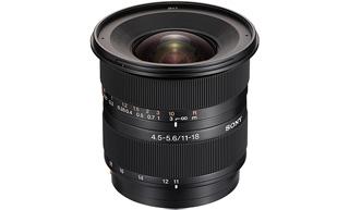 11-18/4,5-5,6 Sony Alpha Objektiv NEUWARE