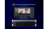 Super Resolution De-Mosaicing Processor