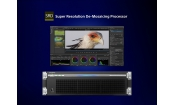 Super Resolution De-Mosaicing Processor