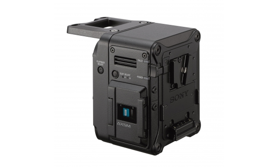 AXS-R7 External 4K Portable Memory Recorder - Sony Pro